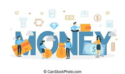 argent, concept, animation