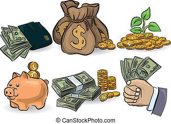 argent, ensemble