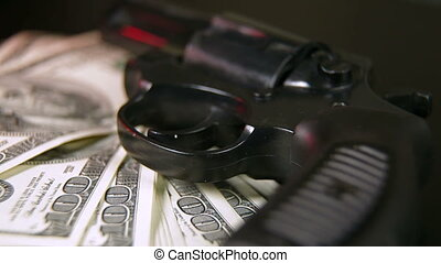 argent, fusil