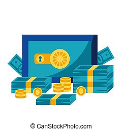 argent., sûr, illustration