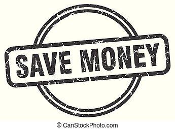 argent, sauver