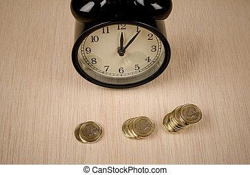 argent, temps
