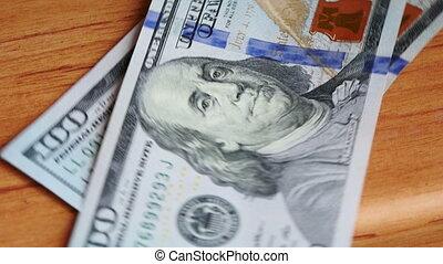 argent, vidéo, ultra, dénombrement, hd