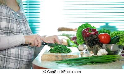 aromate, couper, persil