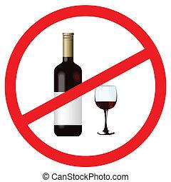 arrêt, alcool, signe