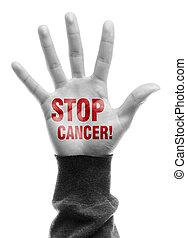 arrêt, cancer