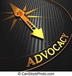 arrière-plan., advocacy., business