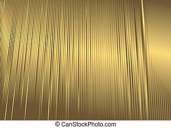 arrière-plan doré, résumé, (vector)