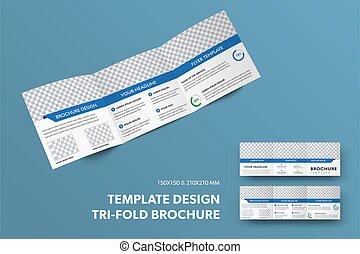 arrière-plan., isolé, ouvert, présentation, ligne, livret, conception, insertion, carrée, photo, rectangulaire, bleu