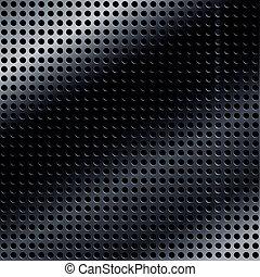 arrière-plan noir, métallique