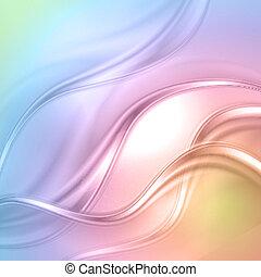 arrière-plan., résumé, coloré, vague