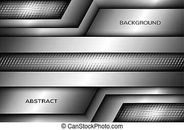 arrière-plan., résumé, illustration., métallique