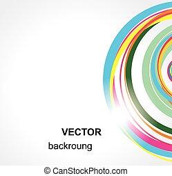 arrière-plan., résumé, vector.