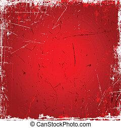 arrière-plan rouge, grunge