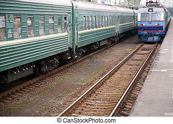 arrivée, train`s