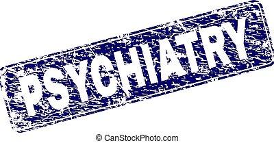 arrondi, timbre, encadré, psychiatrie, grunge, rectangle
