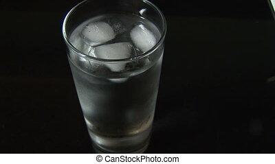 arrosez verre, glace
