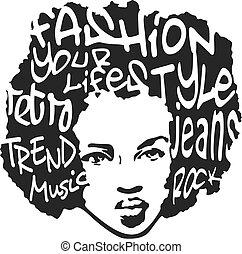 art, conception mode, pop, homme