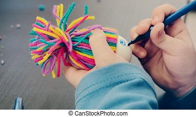 art, créatif, métier, jouets, passe-temps, leçon, confection