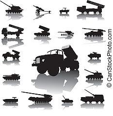 artillerie, ensemble