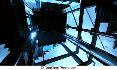ascenseur, ascenseur, /