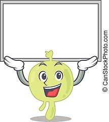 ascenseur, lymphe, réussir, noeud, caractère, haut, planche, caricature