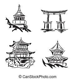 asiatique, temple