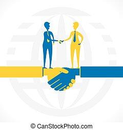 association, relation, ou, business