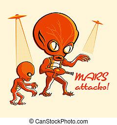 attacks!, mars