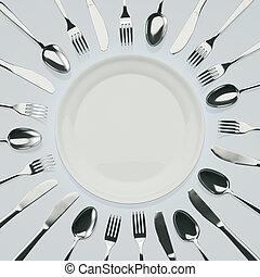 attente, dîner