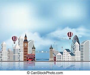 attraction, londres, touriste