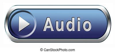 audio, icône