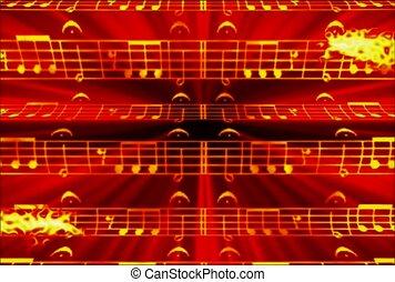 audio, instrument, symphonie