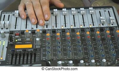 audiomixer, dj, fonctionnement, boîte nuit