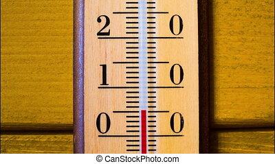 augmentations, timelapse, température, thermometer.