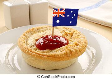 australien, tarte viande