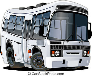 autobus, dessin animé