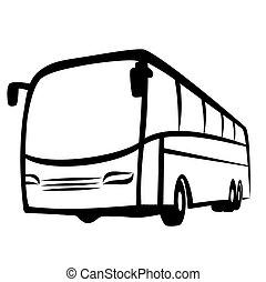autobus, symbole