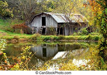 automne, arkansas, grange