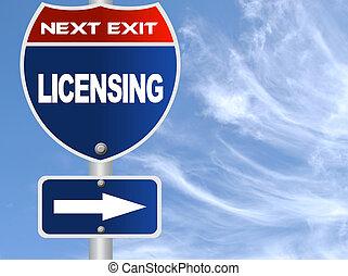autoriser, panneaux signalisations