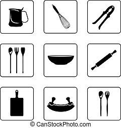 autre, kitchenware