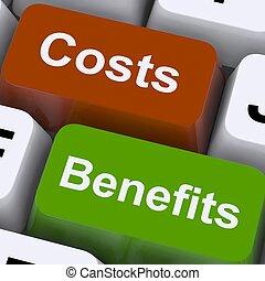 avantages, clés, projection, valeur, coûts, analyse, investissement