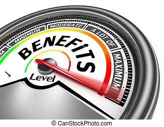 avantages, mètre, conceptuel