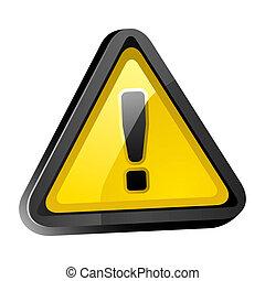avertissement, danger, attention, signe