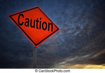 avertissement, prudence, panneaux signalisations