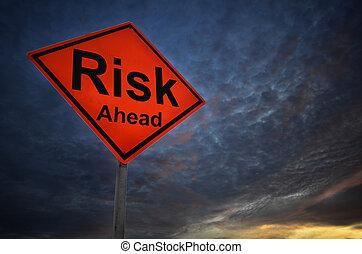 avertissement, risque, panneaux signalisations