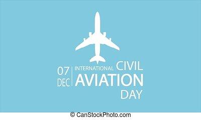 aviation, avion, international, jour, civil