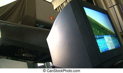 aviation, simulateur