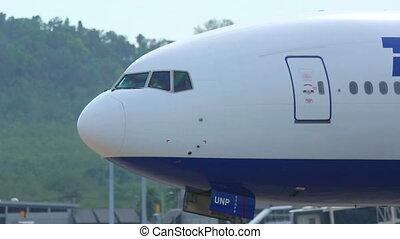 avion, cabine