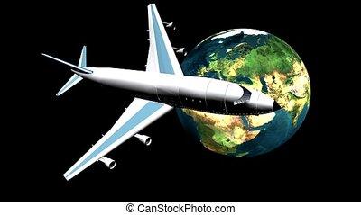 avion ligne